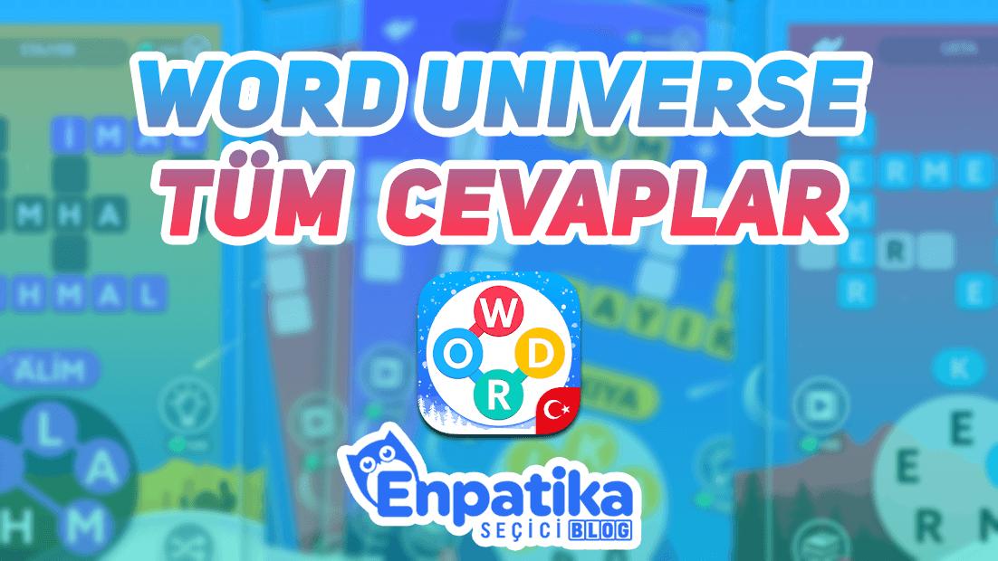 Word Universe Cevapları