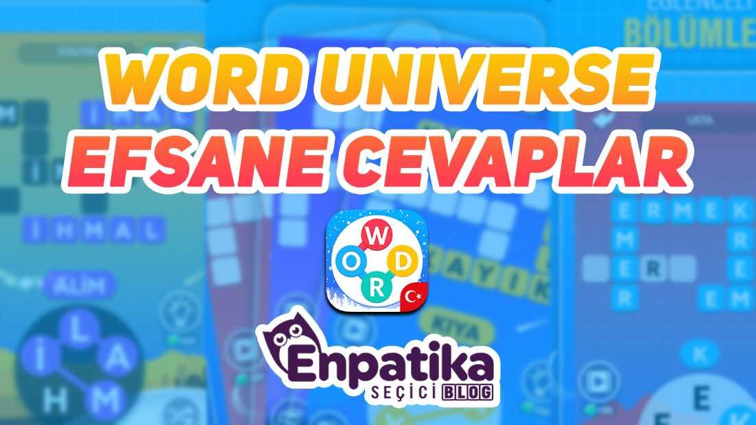Word Universe Efsane Cevapları