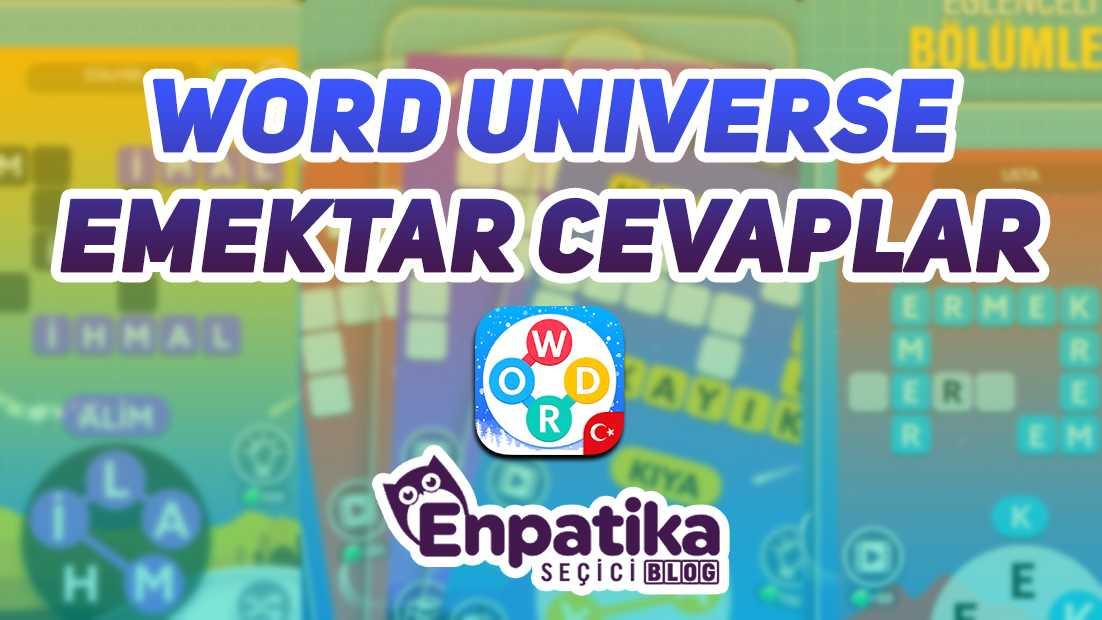 Word Universe Emektar Cevapları