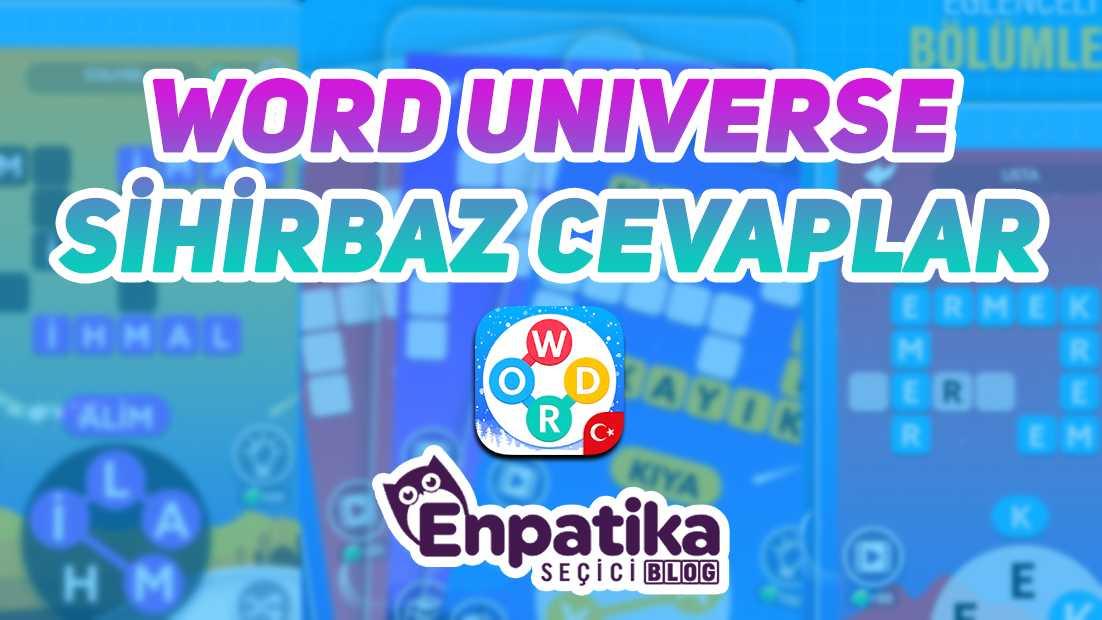 Word Universe Sihirbaz Cevapları
