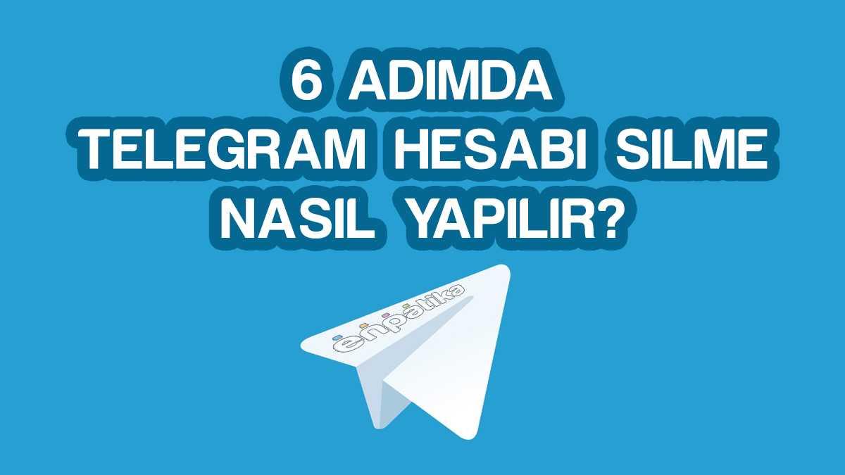 Telegram Hesabı Silme