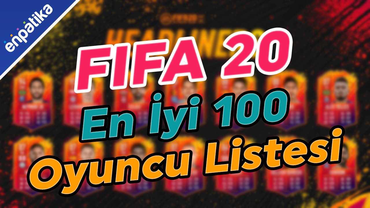 Fifa 20 En İyi Oyuncu Listesi