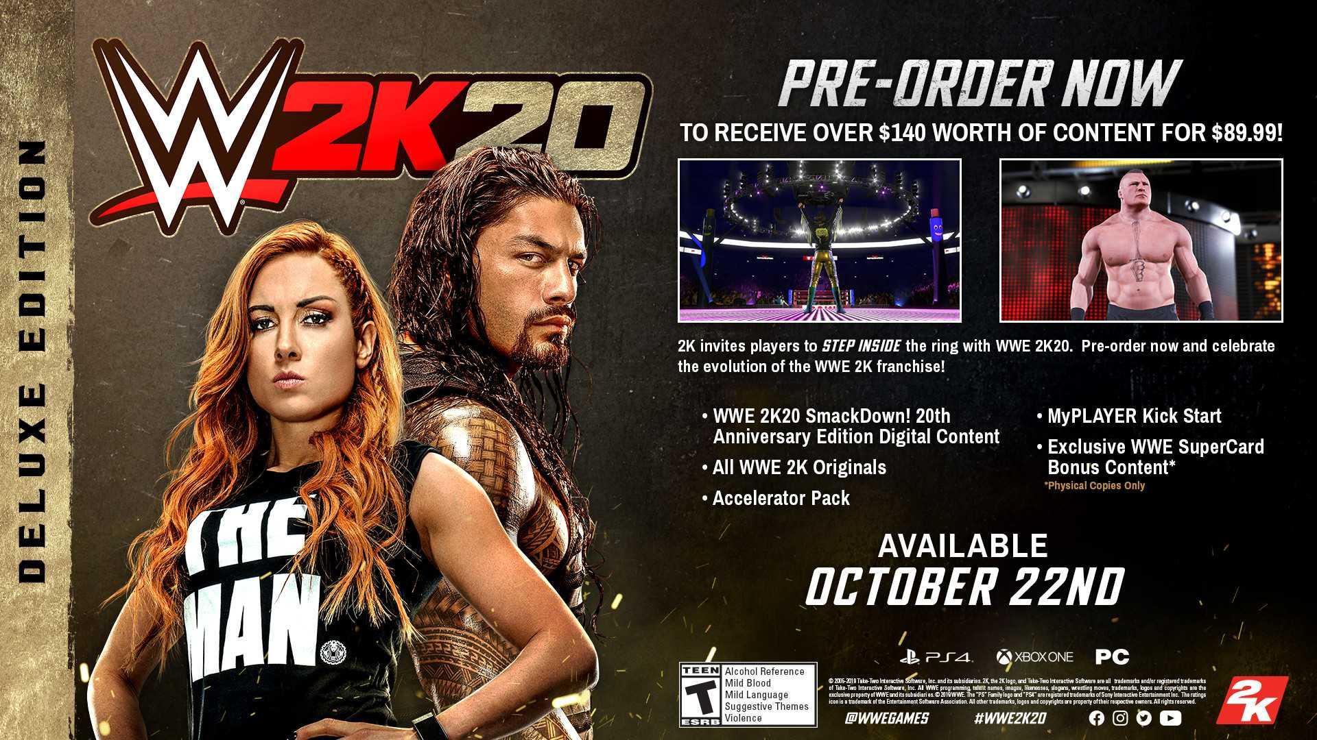 WWE 2K20 Sistem Gereksinimleri
