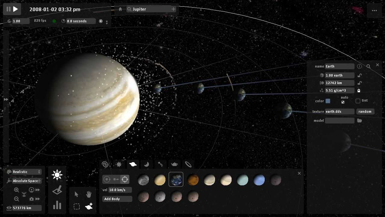 Universe Sandbox Sistem Gereksinimleri