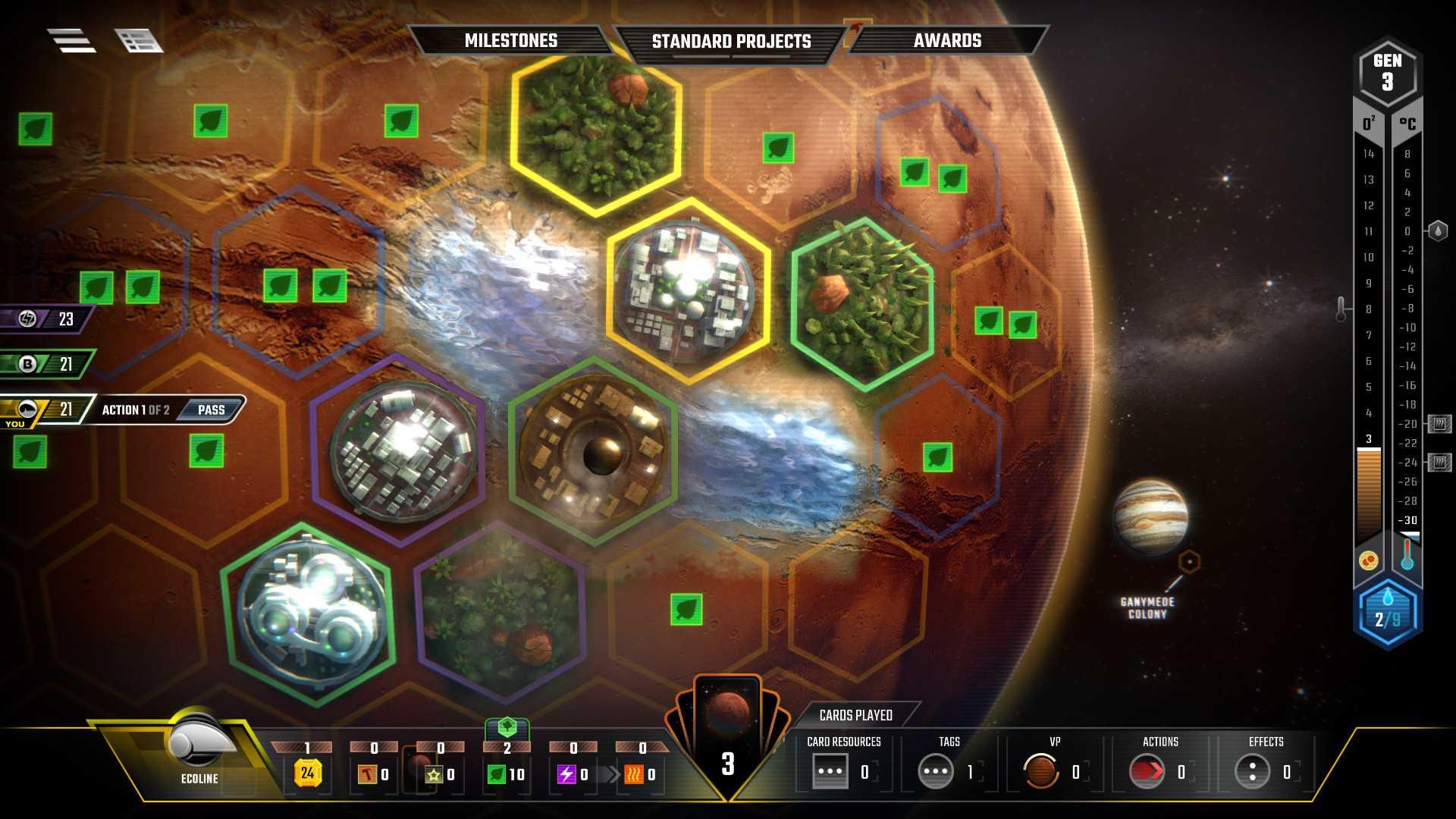 Terraforming Mars Sistem Gereksinimleri