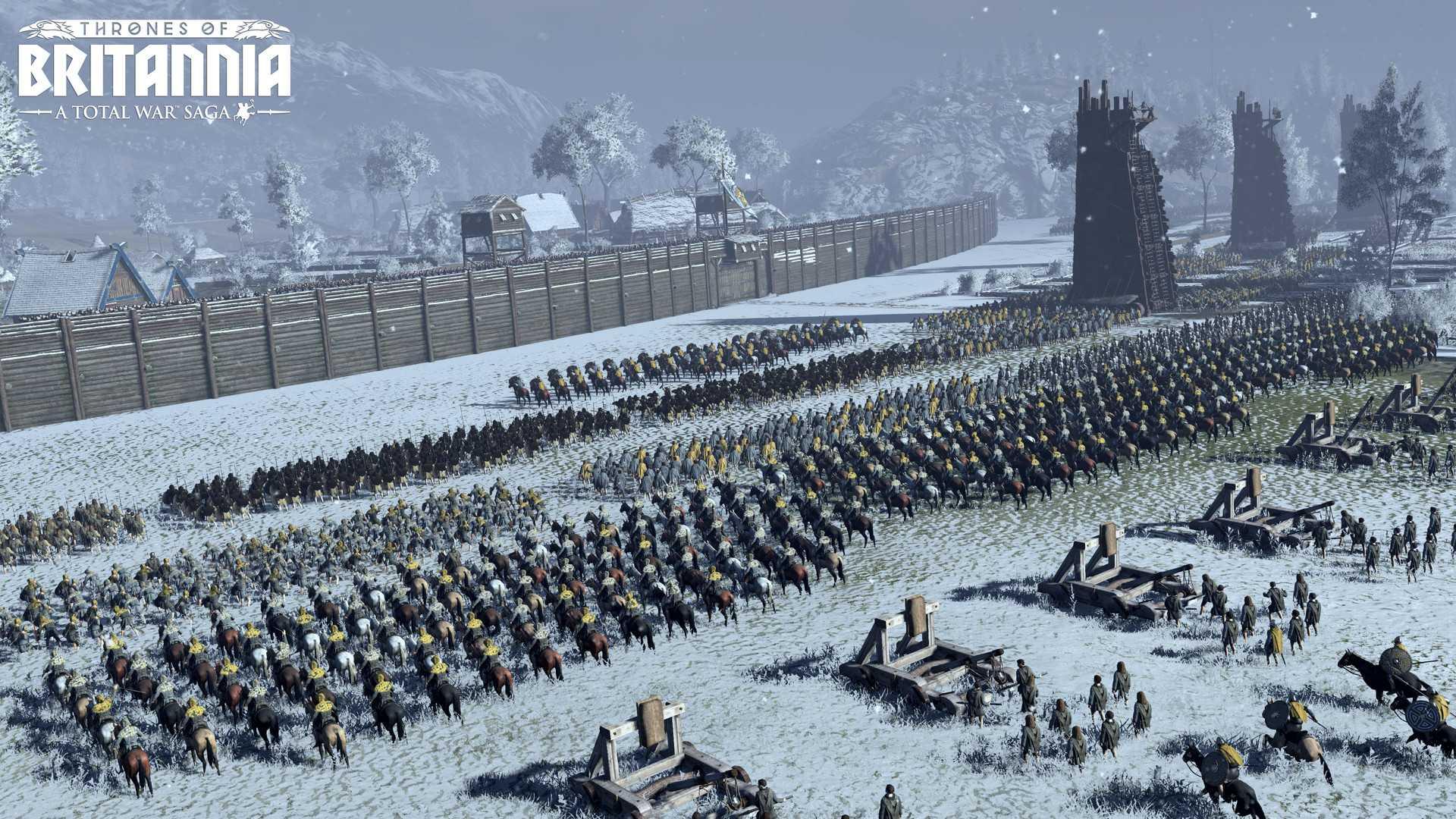 Total War Saga: THRONES OF BRITANNIA Sistem Gereksinimleri