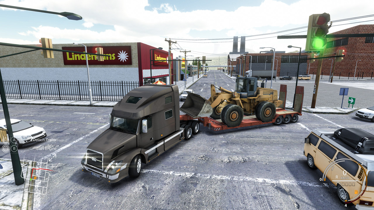 Truck and Logistics Simulator Sistem Gereksinimleri